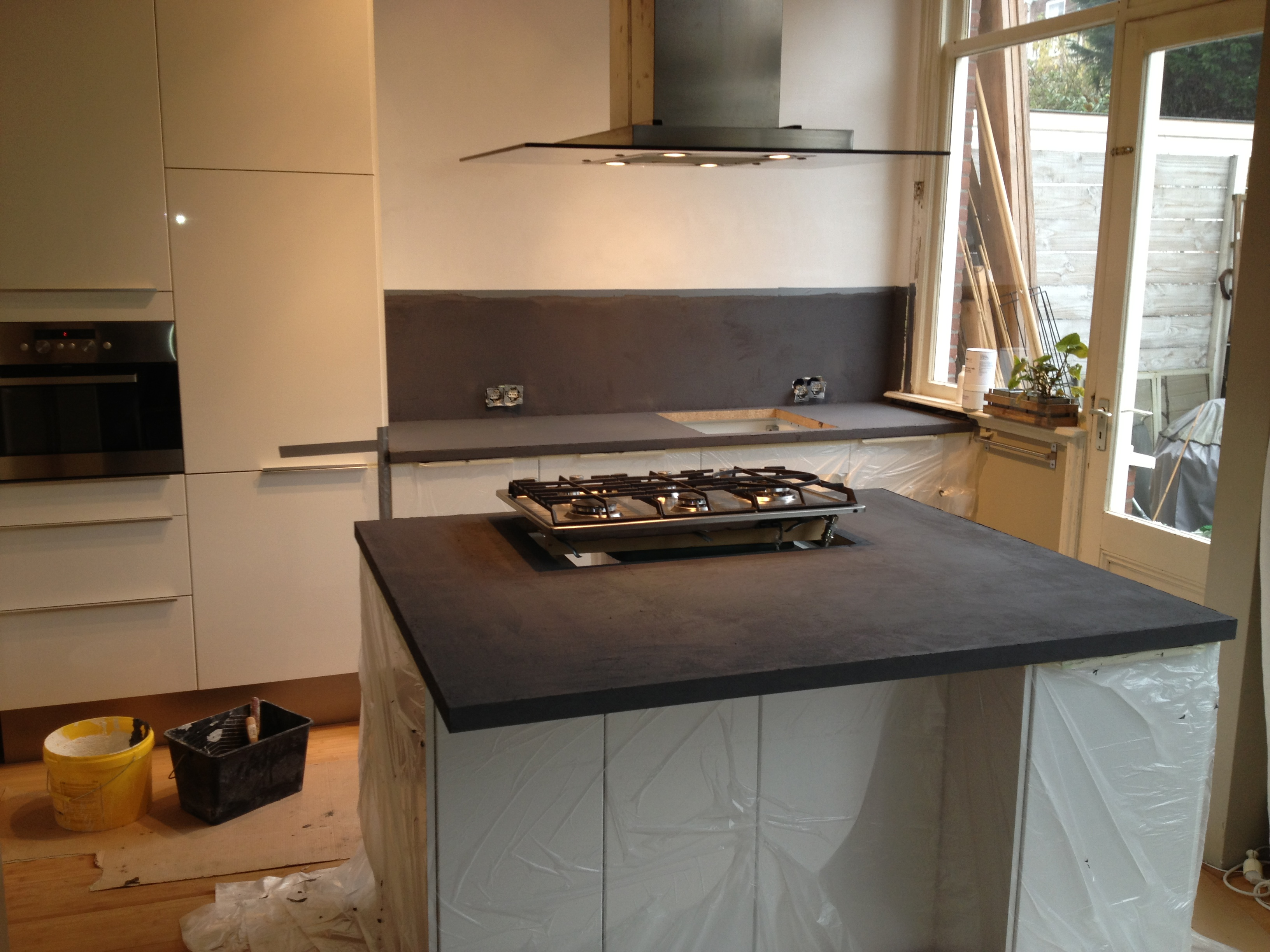 Beton Cire Keuken Wand : Beton Cir? Keuken Pictures to pin on Pinterest