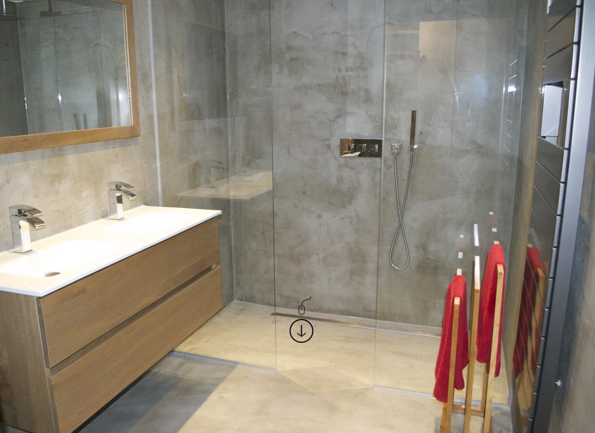 Beton cir centrum de specialist in beton cire - Badkamer minerale ...