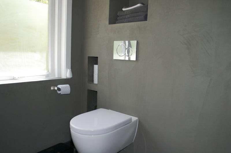 Badkamer beton cir oegstgeest beton cir centrum - Verf wc ...