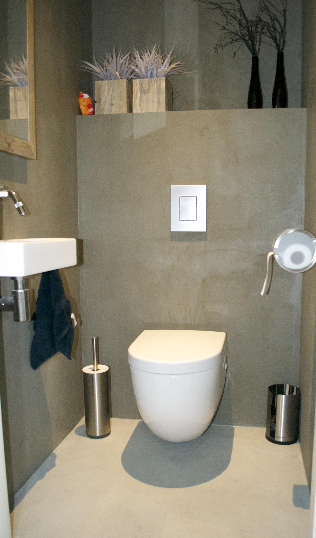 Impressie beton cir centrum - Muur tegels voor wc ...