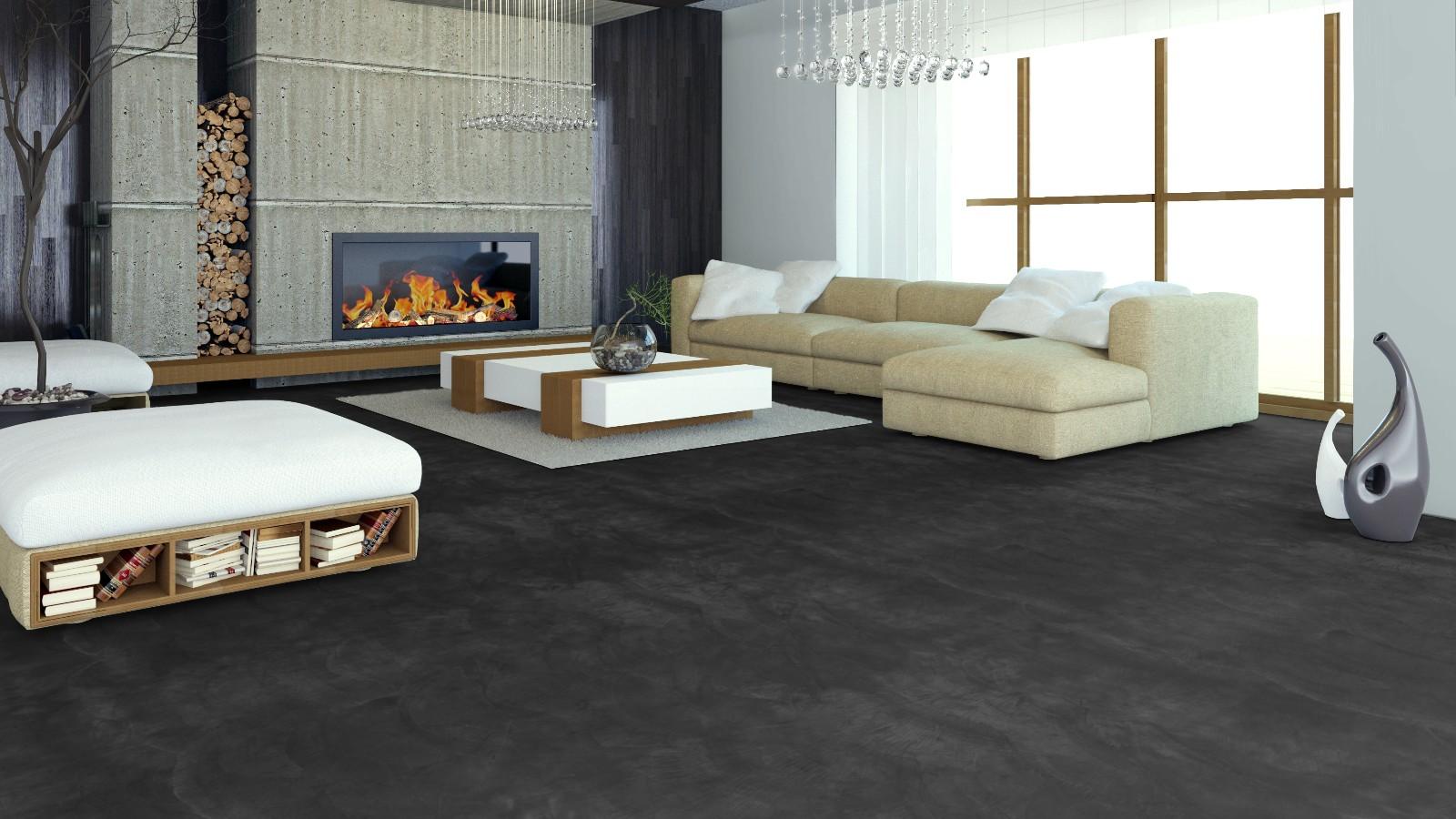 huis muur beton cire vloer. Black Bedroom Furniture Sets. Home Design Ideas