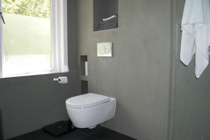 Badkamer Beton Cire: Beton cir badkamer complete wonen. Beton cire ...
