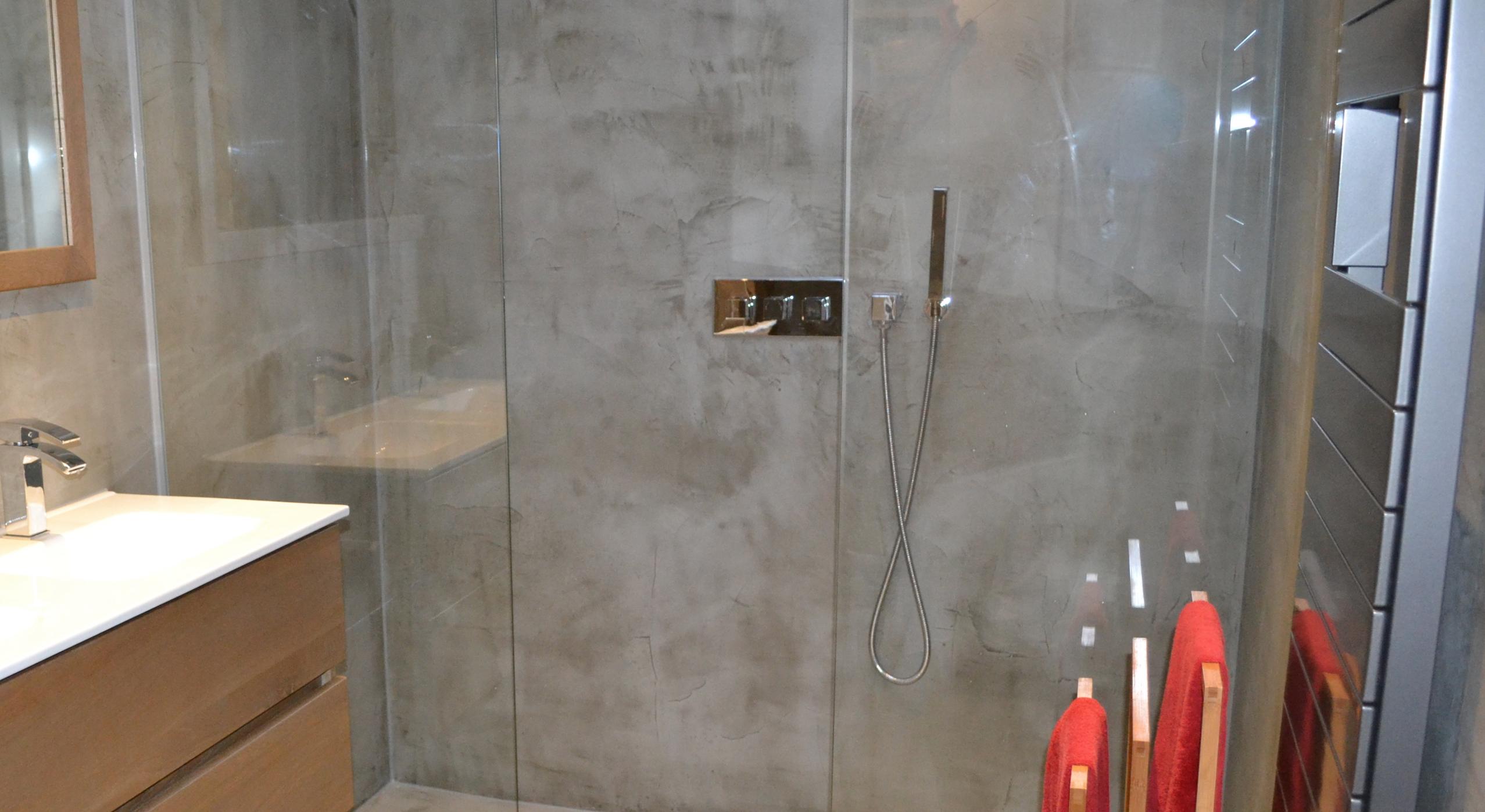 Betonnen Tegels Badkamer : Beton ciré badkamer beton ciré centrum